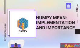 numpy mean