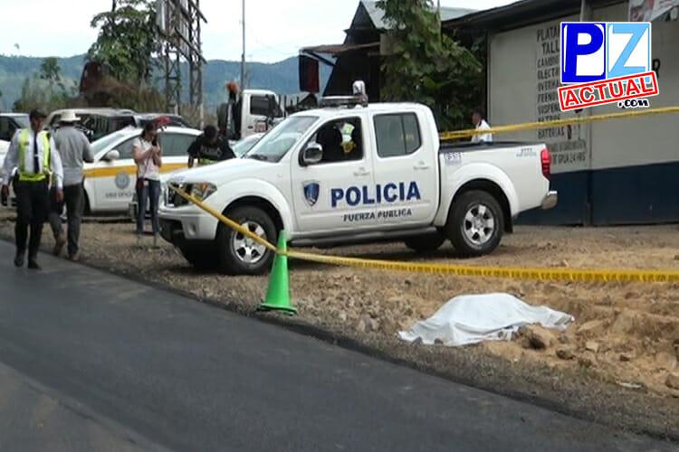 Joven conductor fallece al lanzarse de camión por evitar accidente de tránsito en El Jardín.