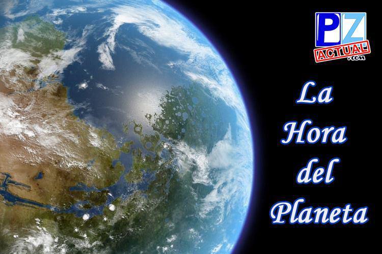 Unámonos todos este sábado 28 de marzo para cuidar al Planeta.