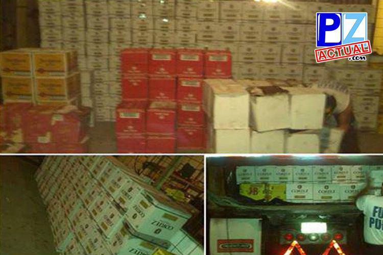 Fuerza Pública detiene vagoneta con gran cargamento de licor en Uvita de Osa.