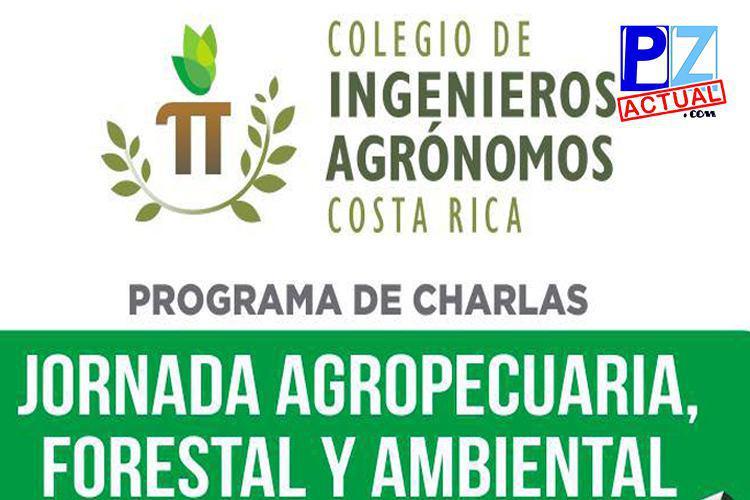 Jornada Agropecuaria, Forestal y Ambiental, Filial Brunca este 21 y 22 de mayo.