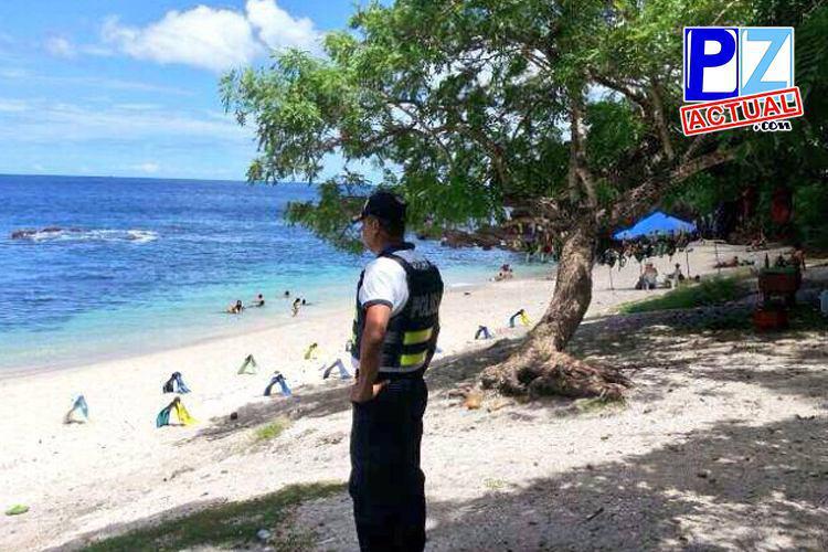 Policía Turística hace un llamado a los vacacionistas para evitar que hurtos aumenten.