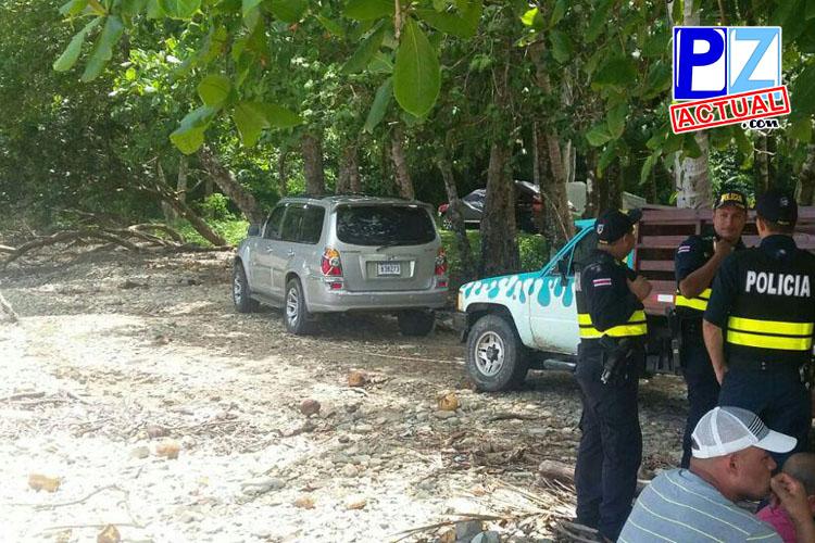 Aparecen cuerpos de jóvenes al parecer vecinos de Pérez Zeledón dentro de vehículo.