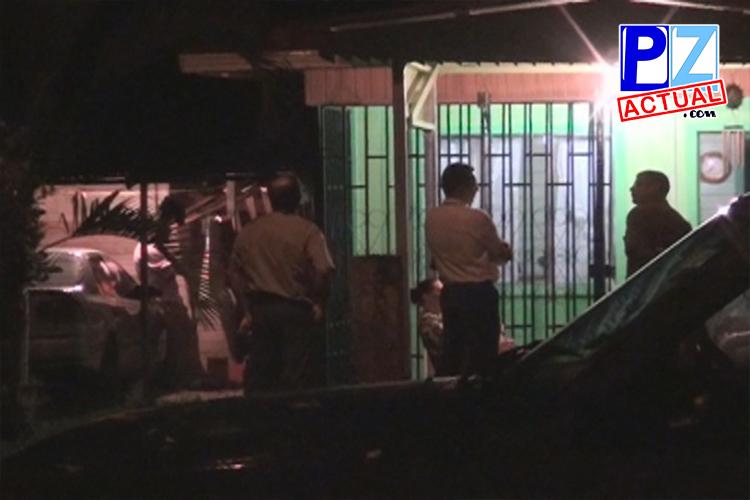 Allanamiento a vivienda de sospechoso www.pzactual.com
