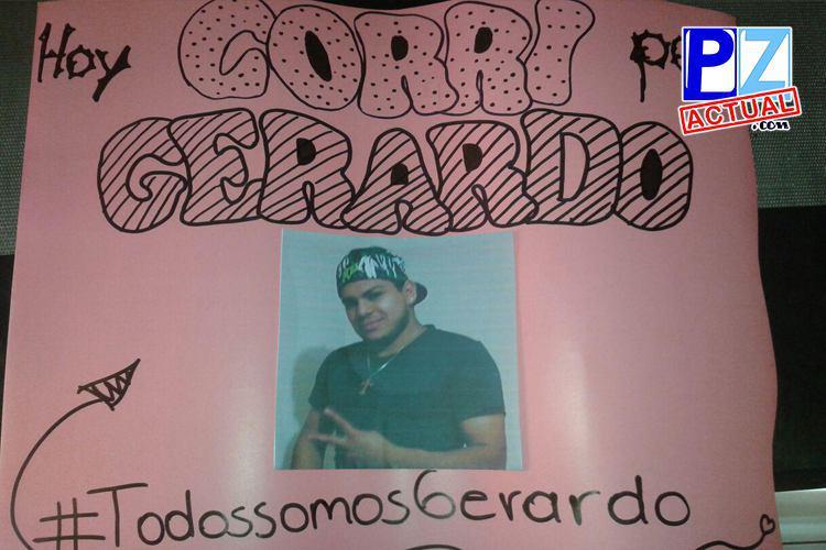 """""""Mi nieta necesita un papá vivo, no a un héroe muerto""""…ayer corrí por Gerardo."""