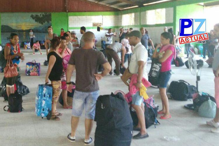 Traslado de cubanos albergados en la Zona Sur y Costera se realiza con éxito.
