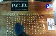 Desarticulan principal organización de venta local de droga en Coto Brus.