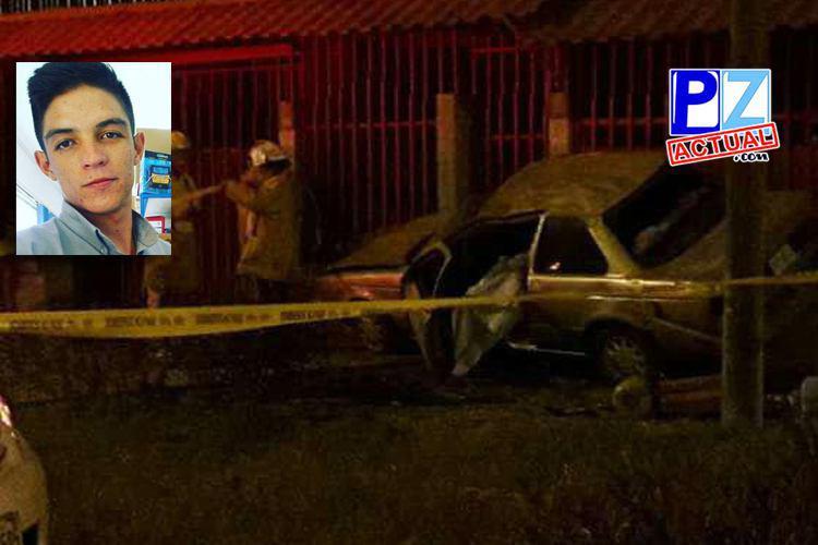 Fin de semana dejó un fallecido a causa de accidente de tránsito en Daniel Flores.