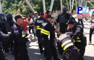 Otorgan medidas cautelares a personas detenidas en el puente sobre el Río Térraba.