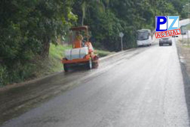 MOPT invierte más de ¢9 mil millones en diversas obras en la Zona Sur del país.