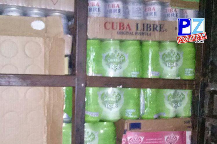 Fuerza Pública decomisa casi dos mil unidades de licor en frontera con Panamá.