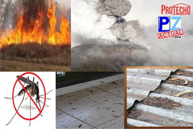 Cenizas de volcán, cenizas de caña, polvo y hasta dengue… ¡Proteja su Casa con PROTECHO!
