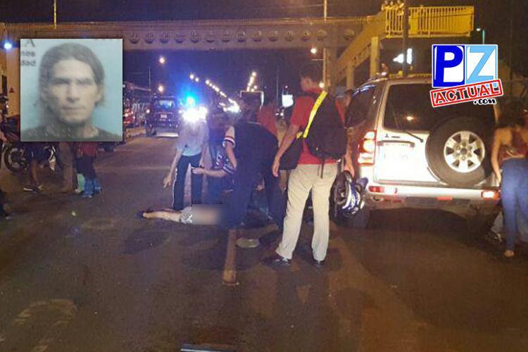 """""""Ruta de la muerte"""" cobra una víctima más pese a construcción de puente peatonal."""