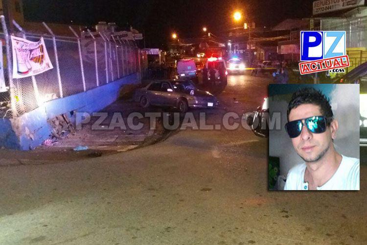 Joven perdió la vida tras sufrir aparatoso accidente de tránsito en el sector de Barsa.
