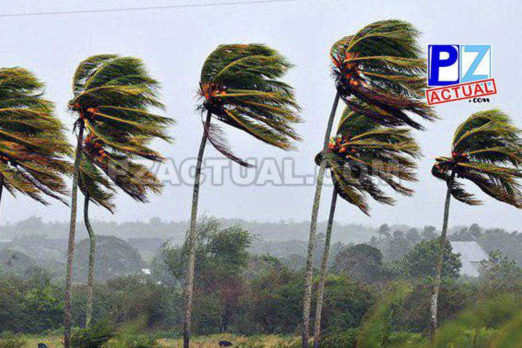 Onda tropical # 9 y fuertes vientos sobre el territorio nacional.