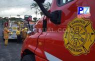 Comunicado oficial Benemérito Cuerpo de Bomberos de Costa Rica sobre robo ocurrido esta mañana en Pavones.