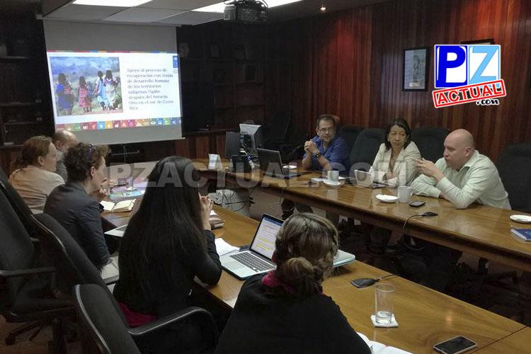 Presentan a la CNE proyecto para desarrollo en territorios indígenas Ngäbe en la Zona Sur.