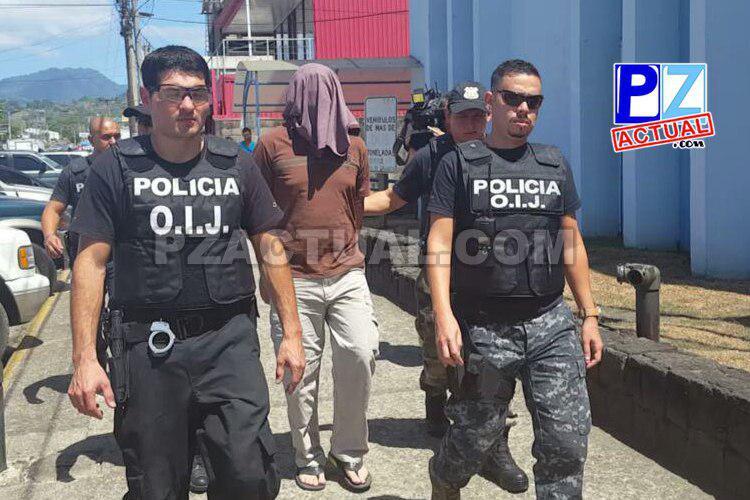 Detienen agente del Organismo de Investigación Judicial en Pérez Zeledón.