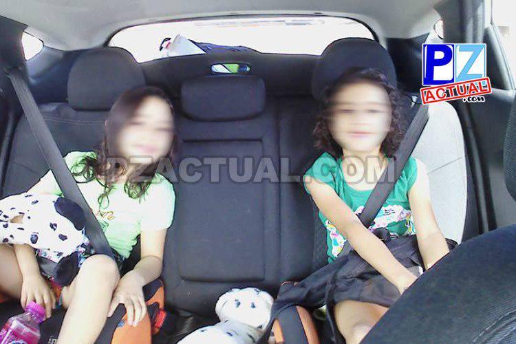 Al menos dos conductores son sancionados por día por llevar niños sin dispositivos de seguridad.