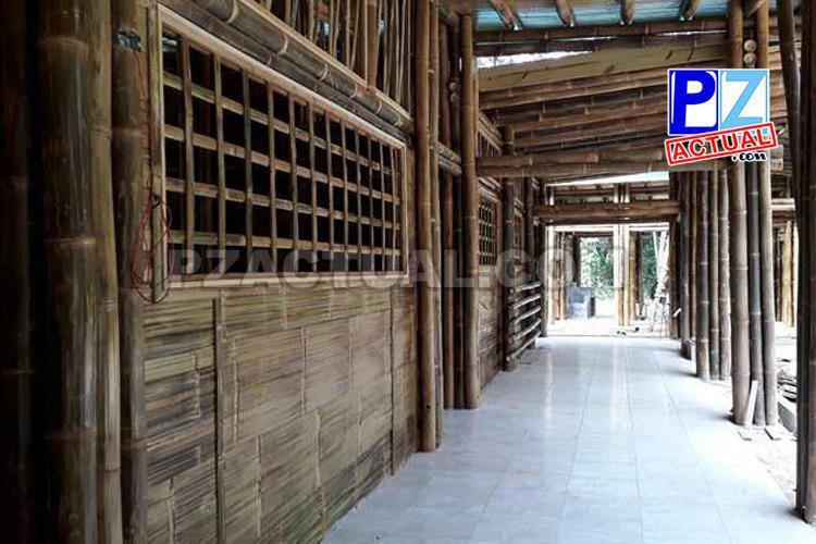 INDER construye salón ecocultural y escuela autosostenible hechos con bambú en Osa.