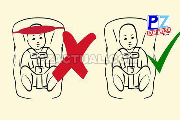 COSEVI advierte sobre riesgos para niños y bebés al utilizar dispositivos para retener la cabeza.