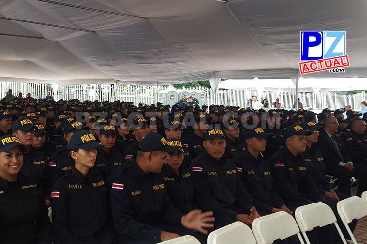 Seguridad Pública gradúa 270 oficiales para el servicio de Costa Rica.