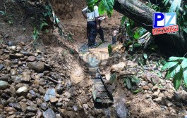 Policía de Fronteras y Fuerza Pública han detenido este año a más de 85 personas por minería ilegal.