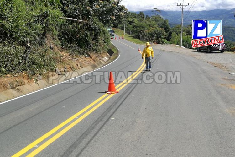 Demarcación ruta San Isidro-Dominical, www.pzactual.com