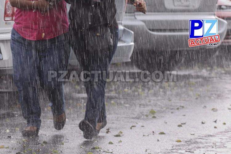 Domingo nublado y con lluvias en la mayor parte del país.