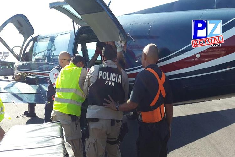 SVA efectuó siete vuelos ambulancia para llevar pacientes hasta hospitales .