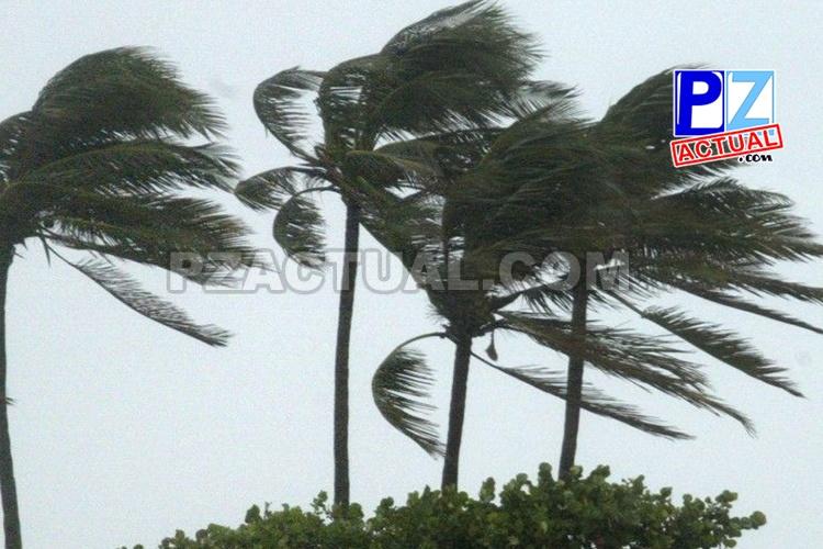 Persisten los vientos fuertes en algunos sectores del país.