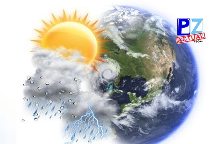 Lluvias y vientos alisios acelerados  debido a sistema de alta presión este viernes.