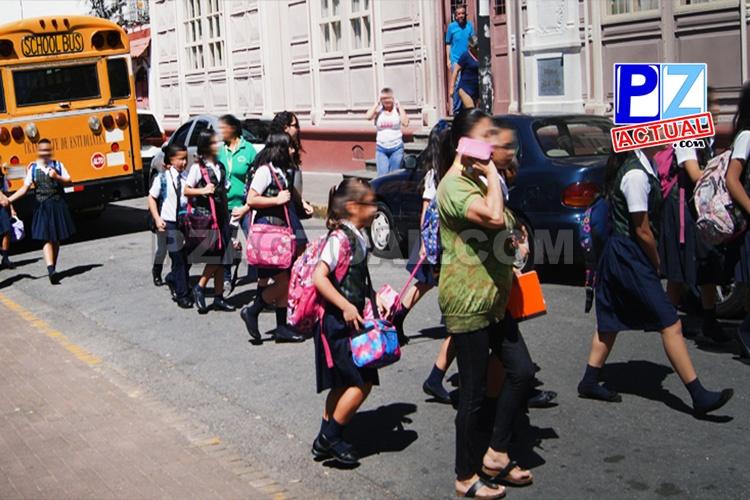 Desde La Cruz hasta Río Claro: Policía de Tránsito lista para entrada a clases.
