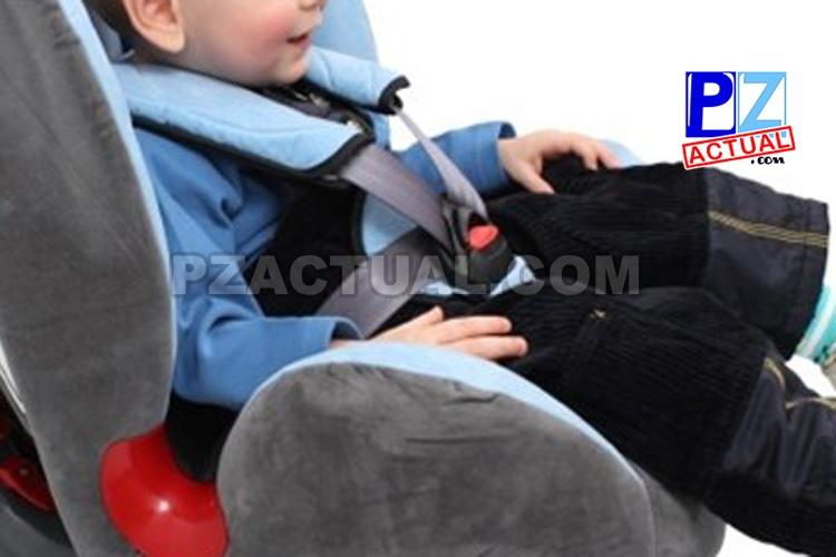 Policía de Tránsito sanciona cuatro conductores cada día por llevar menores sin dispositivos de retención en el carro.