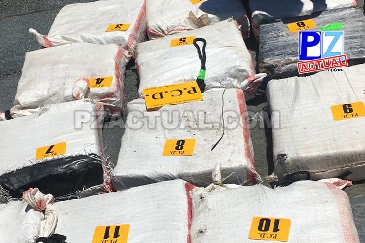 PCD de Seguridad Pública y Guardacostas de Estados Unidos detuvieron barco tico con carga de cocaína.