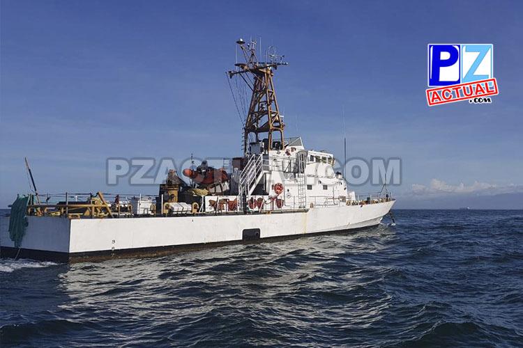 Llega a Caldera una tercera embarcación para Guardacostas de Costa Rica.