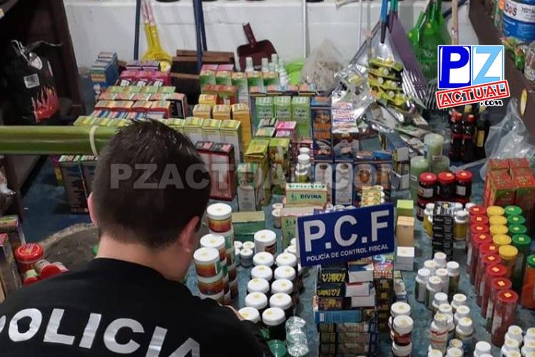 PCF decomisó más de 30 000 unidades de productos macrobióticos en Paso Canoas.