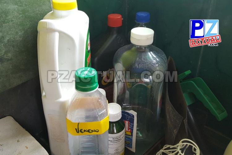 No trasvase productos químicos, le puede costar la vida a sus hijos.