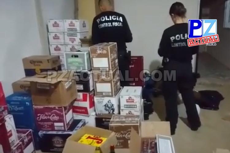 PCF encontró con gran cantidad de licor de contrabando en lugar donde un hombre fue asesinado en San Pedro.