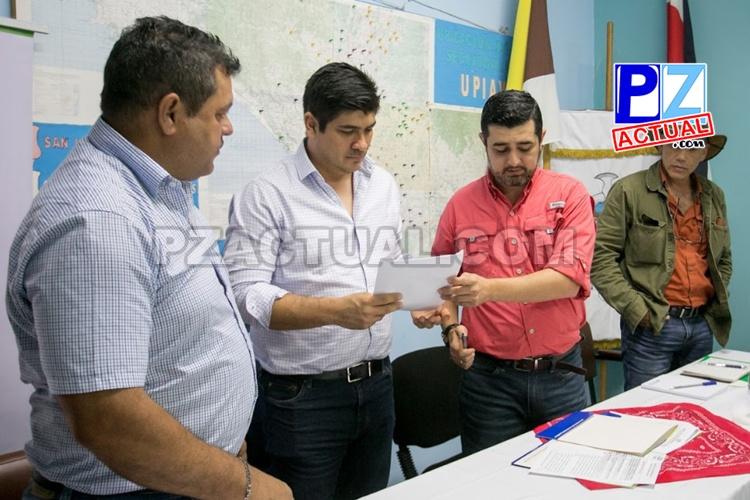 Presidente Alvarado plantea plan estratégico a cafetaleros.