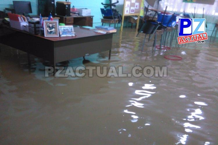 Condiciones lluviosas continúan en todo el país.