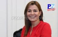 Diputada María Vita Monge se mantiene firme ante su posición sobre el Plan Fiscal.