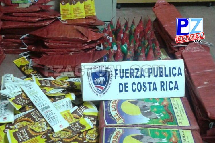 Seguridad Pública fortalece acciones para combatir el tráfico de pólvora.