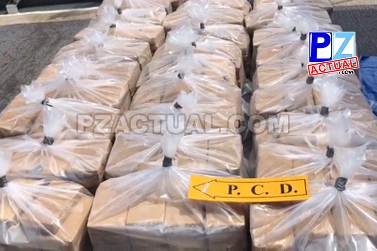 Cinco sujetos detenidos con 600 kilos de cocaína en aguas del Pacífico podrían ir a prisión preventiva.