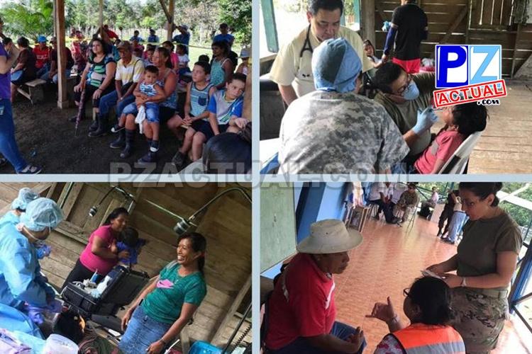 Pobladores de Punta Burica, zona sur del país, recibieron atención gracias a gira médica de la CCSS.