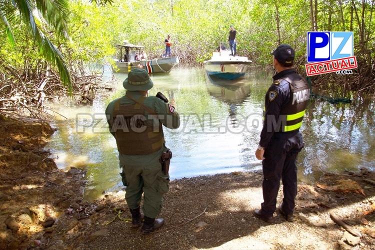 Guardacostas puso a flote lancha encallada en base narco y la llevó hasta Golfito con cargamento de gasolina.