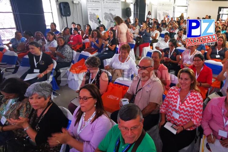 Dio inicio el III Congreso Nacional de la Mujer Rural que se realiza en Pérez Zeledón.