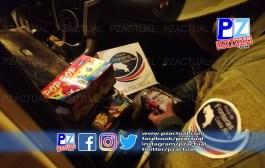 Policía decomisa más de 6.000 unidades de pólvora presuntamente contrabandeada desde Panamá.
