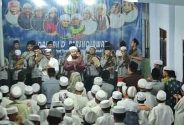 Rayakan Milad 1 Pondok Daerah D yang dihadiri oleh KH. Moh. Hasan Naufal dan KH. Moh. Hasan Maulana.