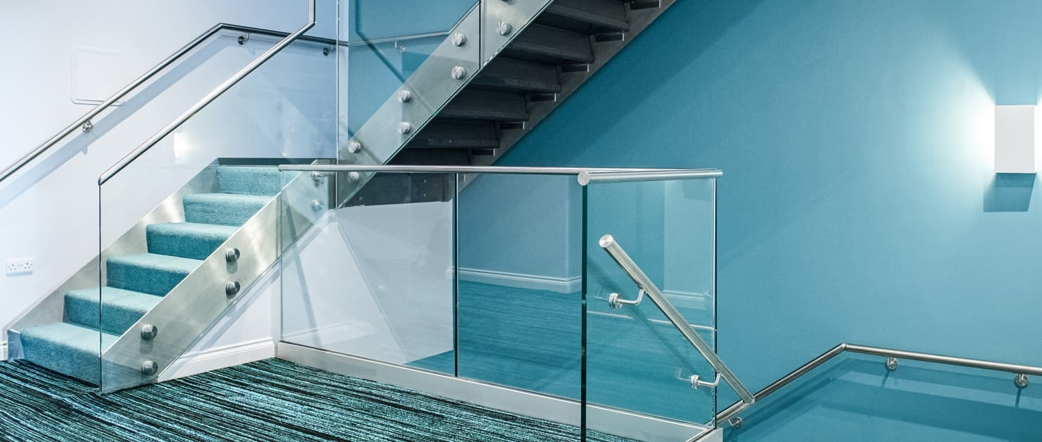 Stair Handrail And Stair Railing | Staircase Side Railing Designs | Stair Pattern | Simple | Residential | Italian | Entrance